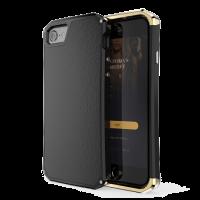 Чехол противоударный чёрно-золотой Ginmic Wing на iPhone 7 — Супер защита