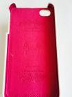 Чехол кожаный, раскладушка, белый, Mobcase для iPhone 4, 4s