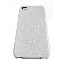 Чехол кожаный, раскладушка, белый, Hoco на iPhone 4, 4s
