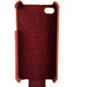 Чехол, раскладушка, золотой, Hoco, Bright leopard, для iPhone 4, 4s