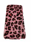 Чехол, раскладушка, розовый, Hoco, leopard, для iPhone 4, 4s