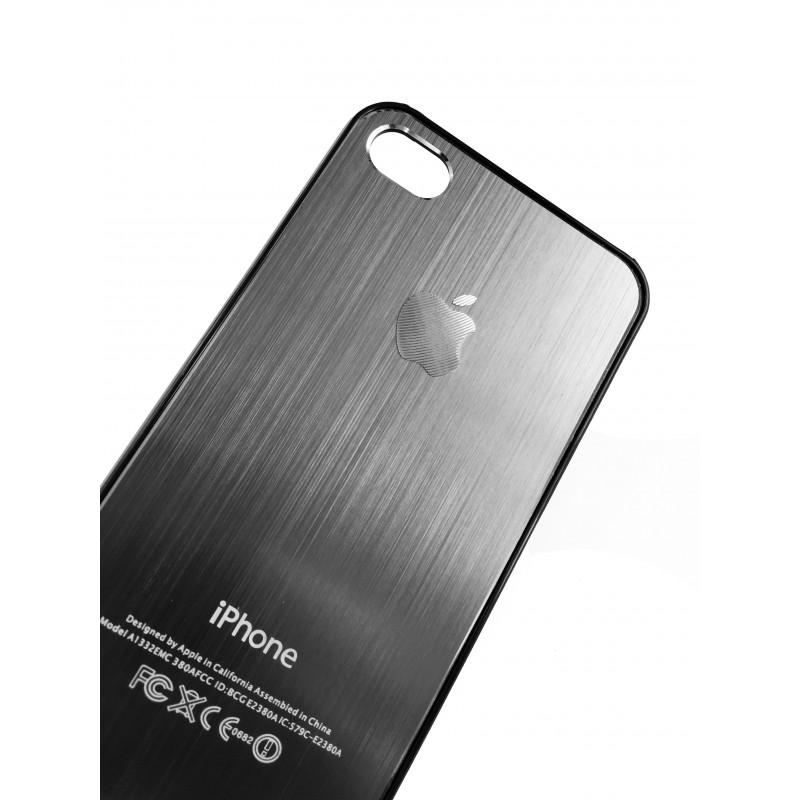 Чехол, накладка, серый, SGP, Satin Silver, для iPhone 4, 4s