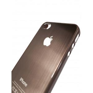 Чехол, накладка, коричневый, SGP Satin Silver, для iPhone 4, 4s