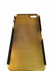 Чехол накладка Mobcase, металлический, золотой для iPhone 5, 5s