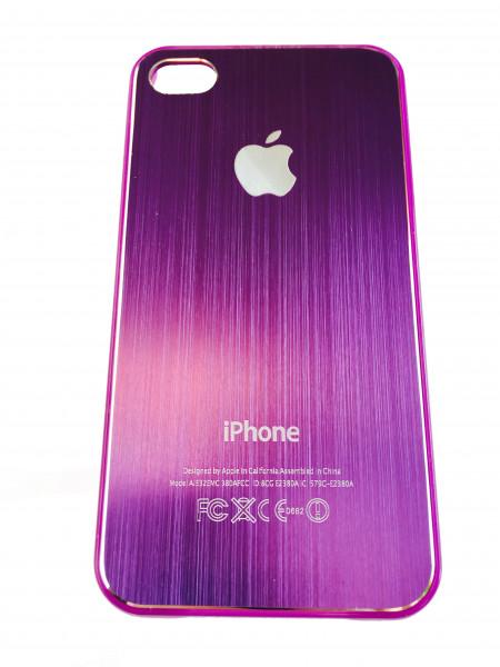 Чехол, накладка, розовый, SGP, Satin Silver, для iPhone 4, 4s