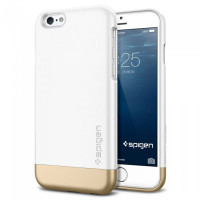 Чехол накладка SPIGEN Style Armor белый для iPhone 6, 6s