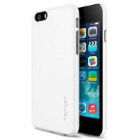 Чехол накладка SPIGEN Thin Fit белый для iPhone 6, 6s