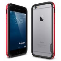 Чехол противоударный SPIGEN Neo Hybrid EX Metal, красный для iPhone 6, 6s