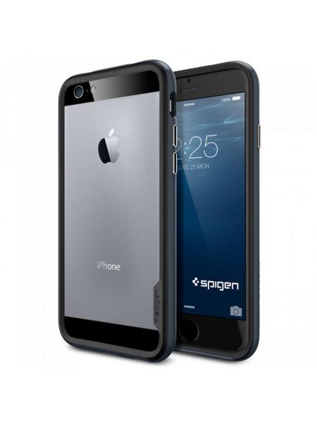 Чехол противоударный SPIGEN Neo Hybrid EX, синевато-серый для iPhone 6, 6s