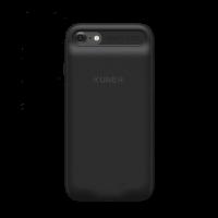 Чехол аккумулятор Kuner Kuke чёрный на iPhone 7 Plus — С памятью