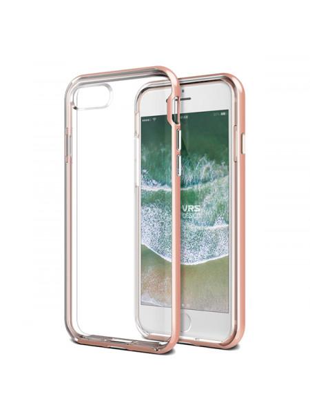 Чехол клип кейс, VRS Design New Crystal, розовый для iPhone 7