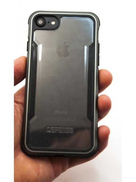 Чехол противоударный, чёрный X-Doria Defense Shield для iPhone 7
