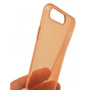 Чехол накладка силиконовая Baseus Simple розовая для iPhone 8 Plus