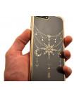 Чехол накладка Kingxbar Twinkling золотая звезда для iPhone 8 Plus