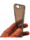 Чехол накладка силиконовая Baseus, Simple, чёрная, для iPhone 8 Plus — Тонкая