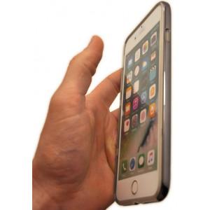 Чехол накладка X-Doria Revel Lux черный блеск для iPhone 8 Plus