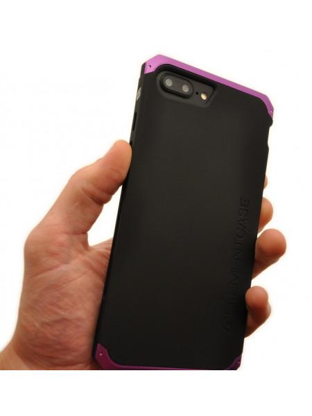 Чехол противоударный Ginmic Solies фиолетовый для iPhone 8 Plus
