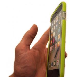 Чехол противоударный Rock Guard зелёный для iPhone 8 Plus