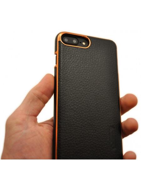 Чехол с беспроводной зарядкой Nillkin N-Jarl чёрный для iPhone 8 Plus