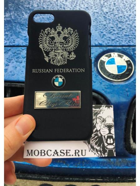 Именной чехол с логотипом BMW, Mobcase 579, для iPhone XS MAX