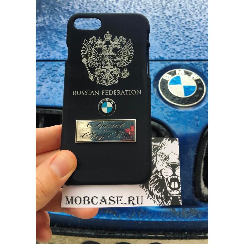 Именной чехол с логотипом BMW, Mobcase 578, для iPhone XR