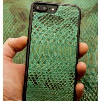 Чехол накладка, кожаная, чёрная Gera Хамелеон для iPhone 8 Plus
