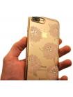 Чехол накладка Kingxbar Flower Sea Пион для iPhone 8 Plus