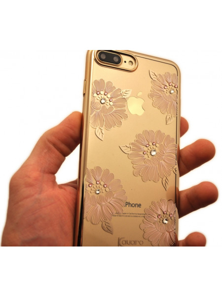 Чехол накладка Kingxbar Flower Sea Пион для iPhone 8 Plus