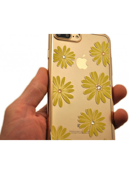 Чехол накладка Kingxbar морской цветок для iPhone 8 plus