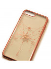 Чехол накладка Kingxbar Twinkling розов-золотая звезда для iPhone 8 Plus
