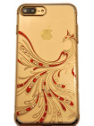 Чехол накладка Kingxbar, золотая птица феникс, для iPhone 8 Plus