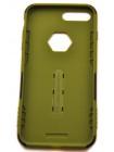 Чехол противоударный Nillkin Defender 4 зелёный для iPhone 8 Plus