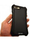 Чехол противоударный R-Just Amira Чёрный для iPhone 8 Plus