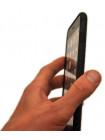 Чехол накладка чёрная Rock Origin карбоновая для iPhone 8 plus
