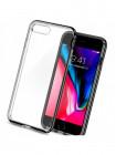 Чехол прозрачный SPIGEN Neo Hybrid Crystal 2, чёрный оникс для iPhone 8 Plus