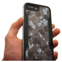 Чехол противоударный X-Doria Defense Shield, чёрный для iPhone 8 Plus