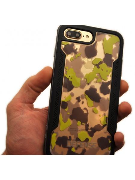 Чехол противоударный X-Doria Defense Shield, жёлтый для iPhone 8 Plus