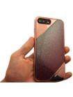 Чехол накладка X-Doria, Revel Lux, розово-золотая, для iPhone 8 Plus