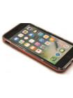 Чехол накладка X-Doria Revel Lux, золотая роза, для iPhone 8 Plus