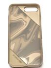 Чехол накладка X-Doria Revel Lux, золотой вихрь, для iPhone 8 Plus