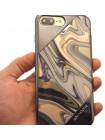 Чехол накладка X-Doria Revel Lux золотой вихрь для iPhone 8 Plus