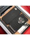 Именной, чёрный чехол книжка с гербом РФ Mobcase 546 для iPhone 7, 8