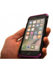 Чехол противоударный Ginmic solies чёрный с розовым для iPhone 8