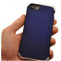 Чехол противоударный Ginmic solies silver blue для iPhone 8