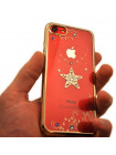 Чехол накладка Kingxbar Sky Gold, звезда для iPhone 8