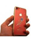 Чехол накладка Kingxbar Gold, оперение для iPhone 8