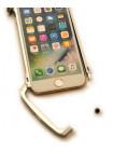 Чехол бампер Luphie Alien X1, серебряный для iPhone 8