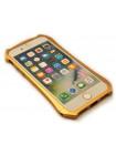 Чехол бампер Luphie Batman, золотой для iPhone 8