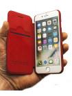 Чехол книжка Nillkin, Qin, красный, для iPhone 8