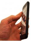 Чехол накладка Nillkin Carbon Fiber, чёрная для iPhone 8